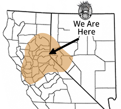 Distribution Area, Northern California & Nevada